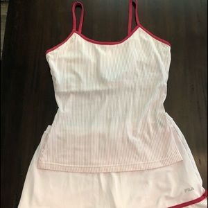 Fila tennis outfit pink sz.M great condition